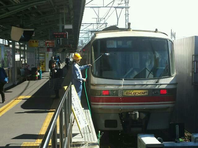 名鉄岐阜駅にて